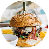 Le burger de bœuf